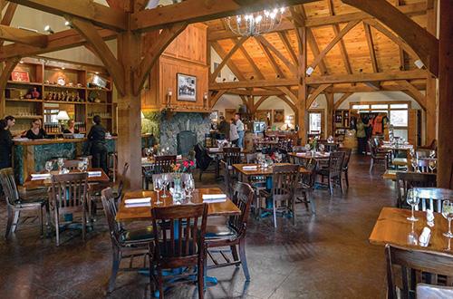 hearth restaurant at sanders